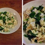simple-supper-side-by-side-rice-mackeral-sweet-chilli-spinach
