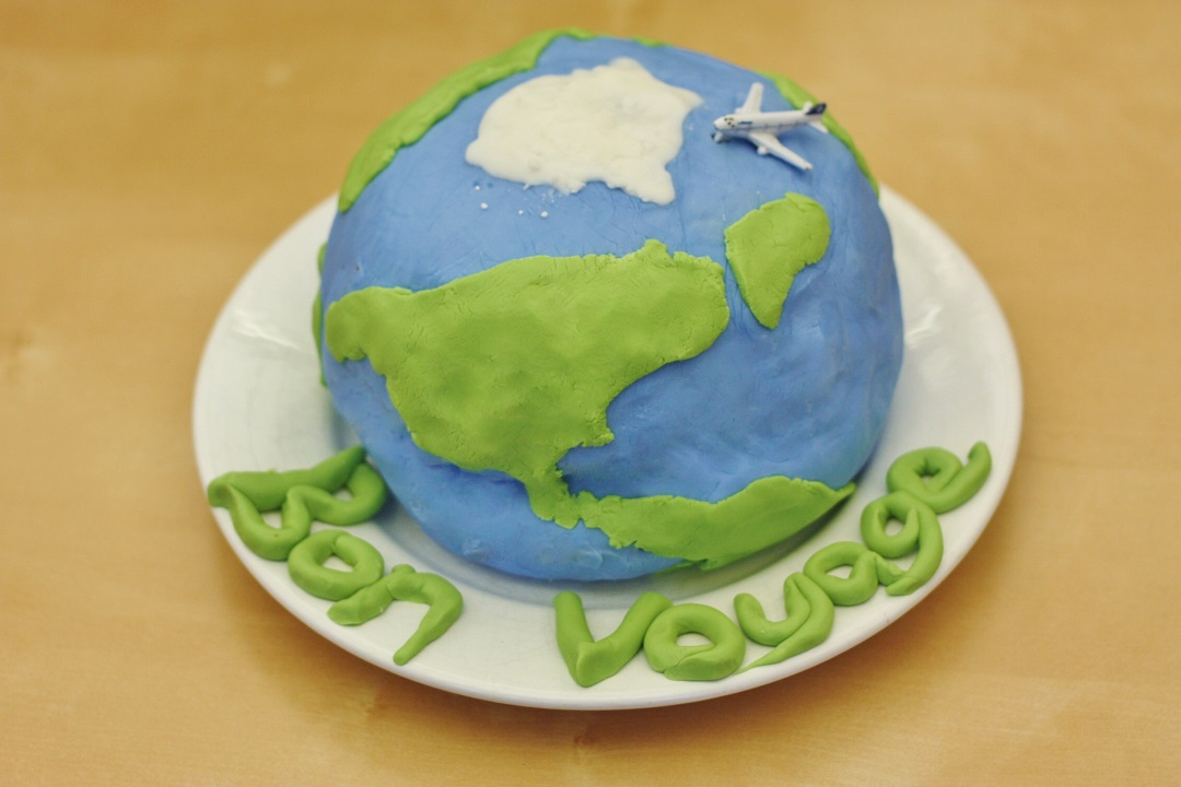 Cake Decorating Internships Uk : Recipe Globe Cake - Wooden Window Sills