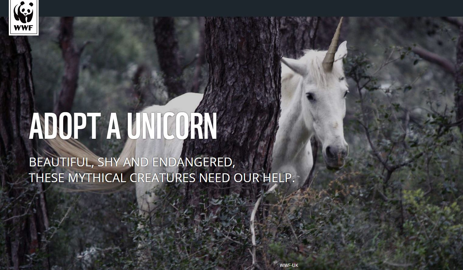 April Fools' 2016 Jokes WWF Unicorns