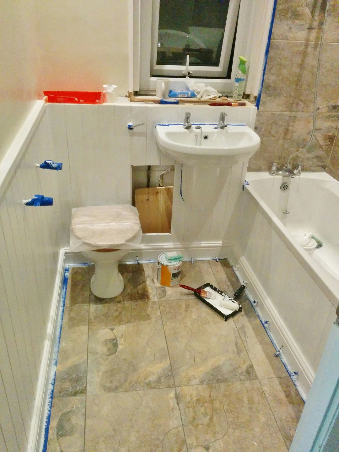 DIY The Bathroom 10