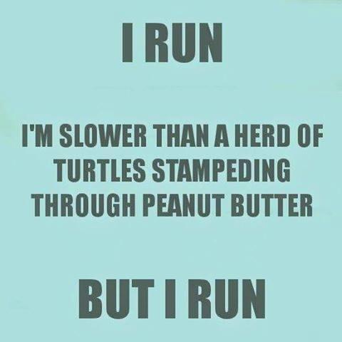 My Marathon The Finish Line, I Run