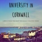 University in Cornwall 15