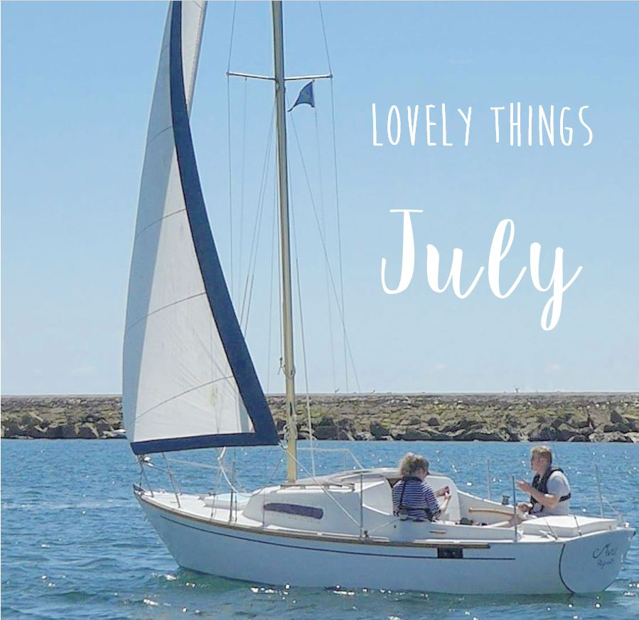 Lovely Things July Cover