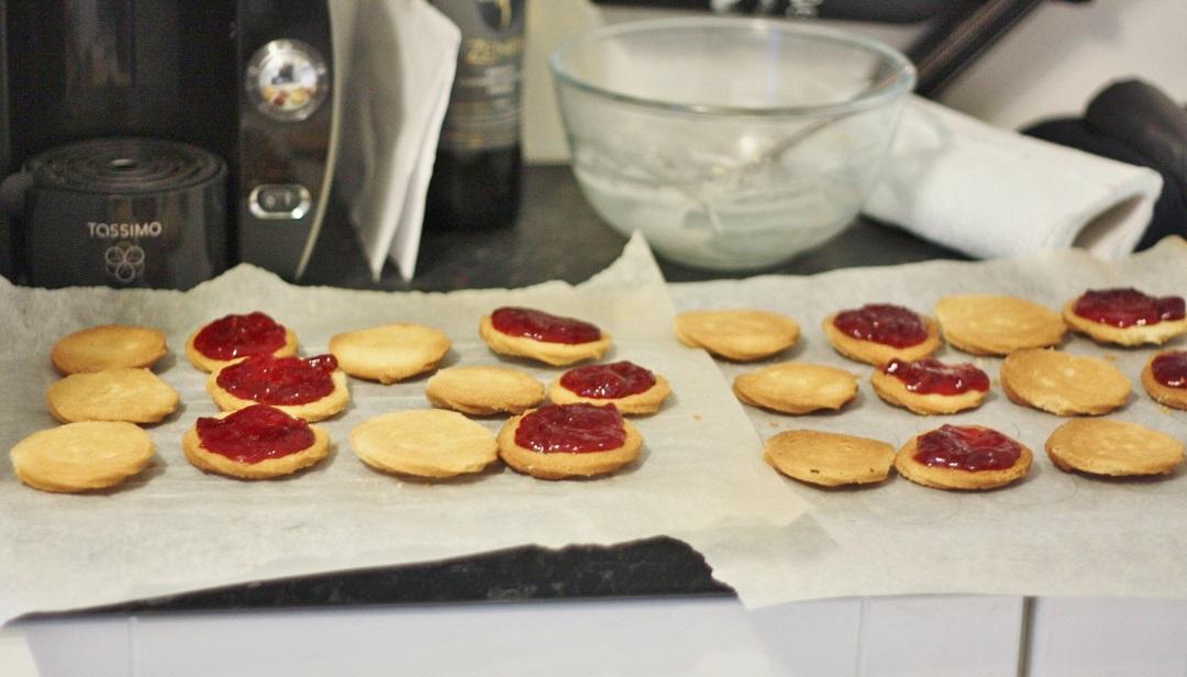 Bake off bake along week 2 biscuits vienesse whirls 5
