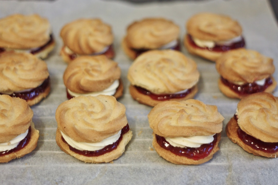 Bake off bake along week 2 biscuits vienesse whirls 6