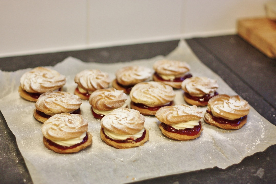Bake off bake along week 2 biscuits vienesse whirls 7