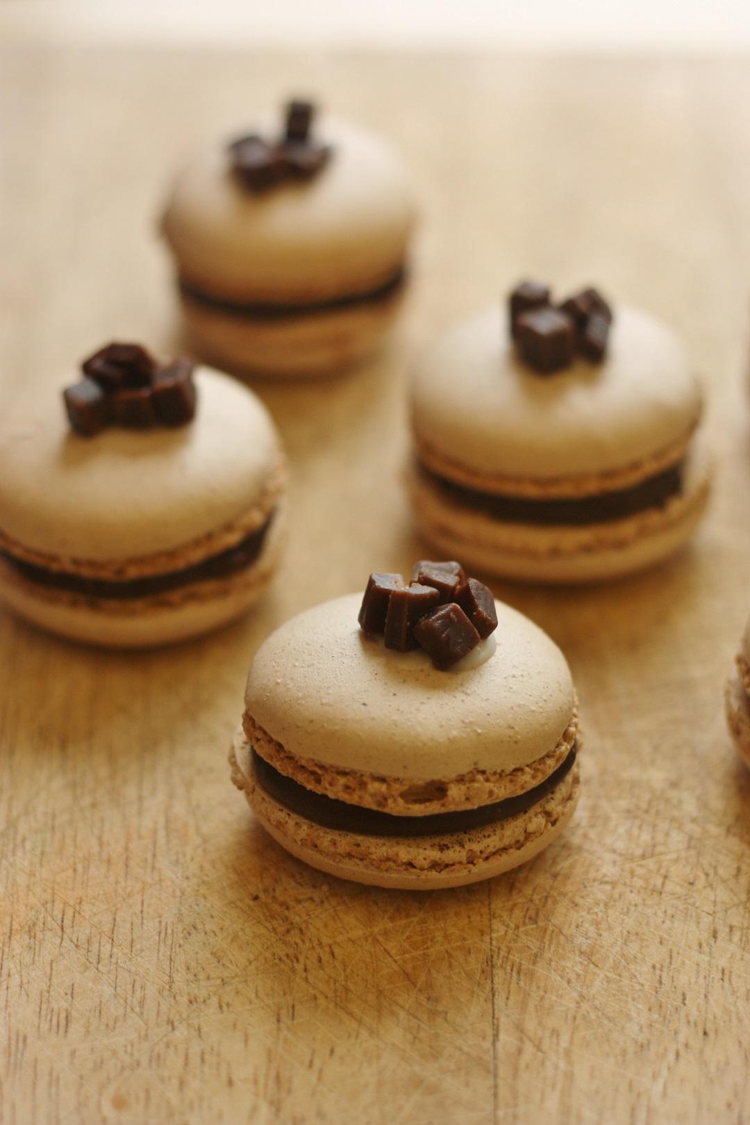 Recipe Chocolate Orange Fudge Macarons 5