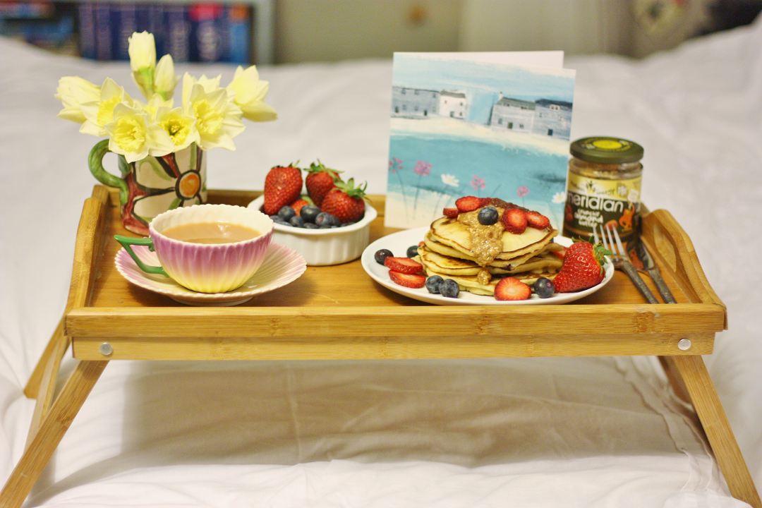 Wooden Window Sills Mother's Day Breakfast in Bed 5