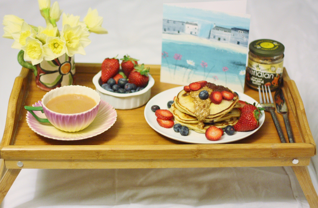 Wooden Window Sills Mother's Day Breakfast in Bed 9