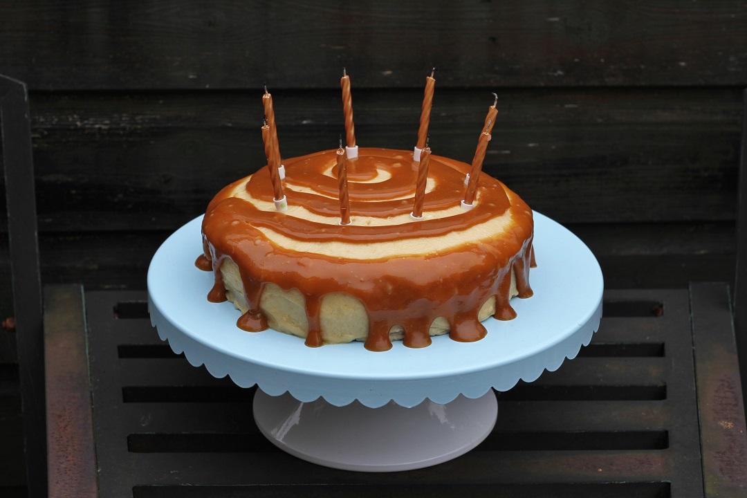 Bake Off Bake Along Caramel Week Apple Cake 2