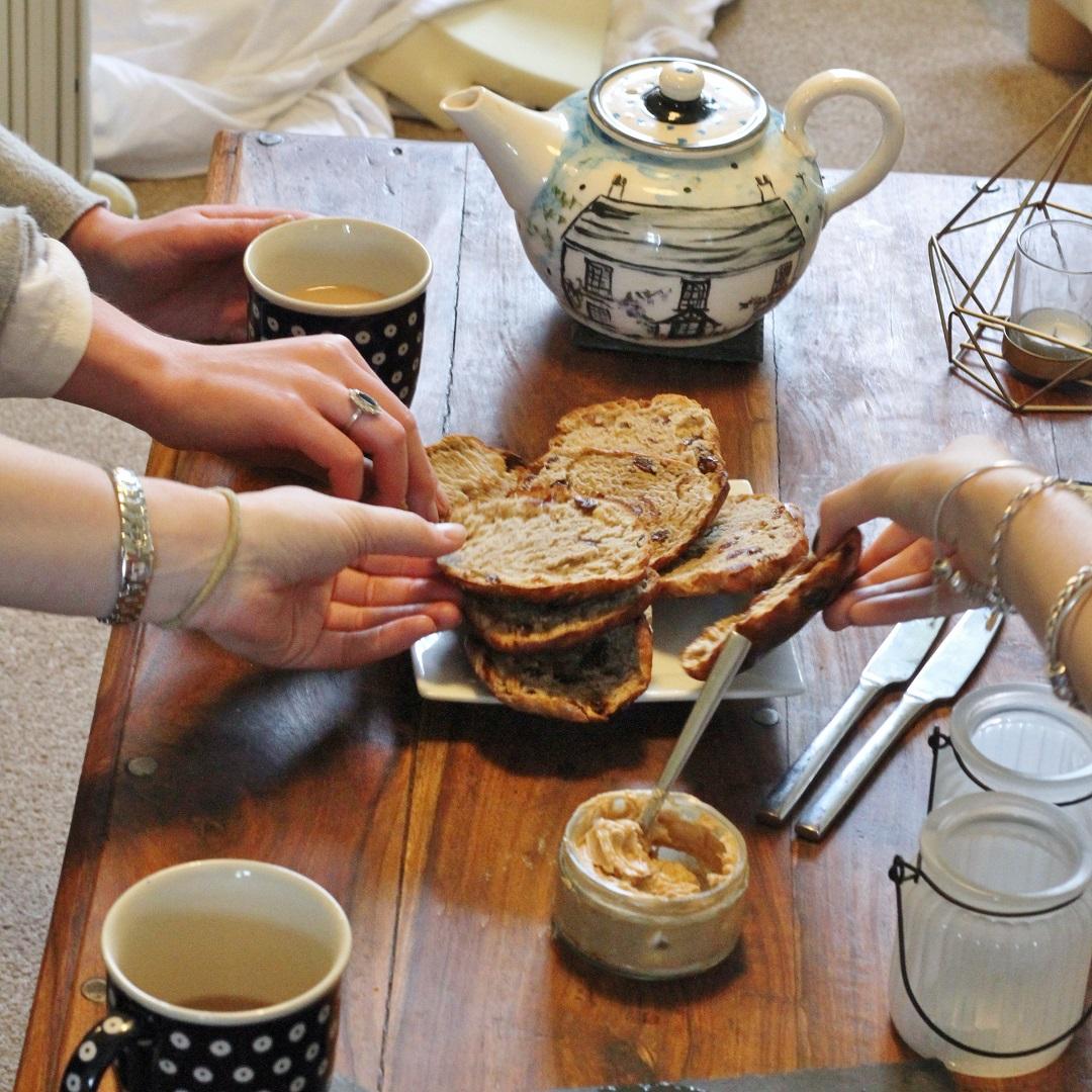 Bake Off Bake Along Week three bread - teacakes 6