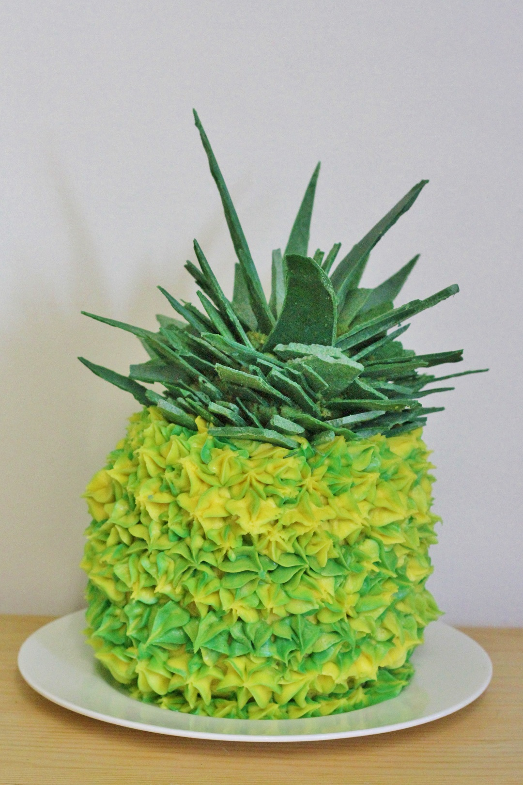 The Bake Off Bake Along Week One - Pineapple Illusion Cake 7
