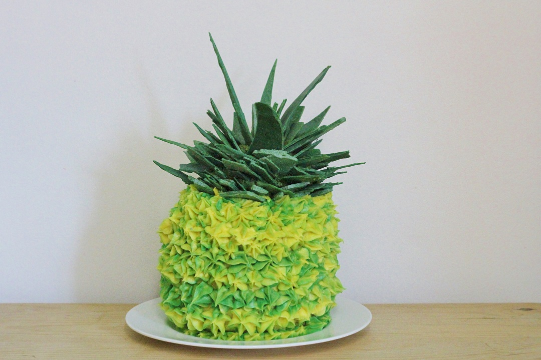 The Bake Off Bake Along Week One - Pineapple Illusion Cake