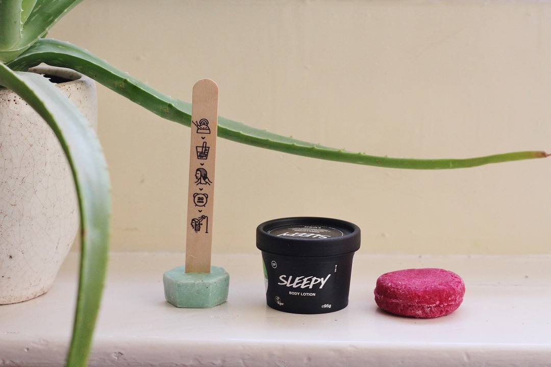 Wooden Window Sills 3 Lush Cosmetics Products I've Been Trialling 1